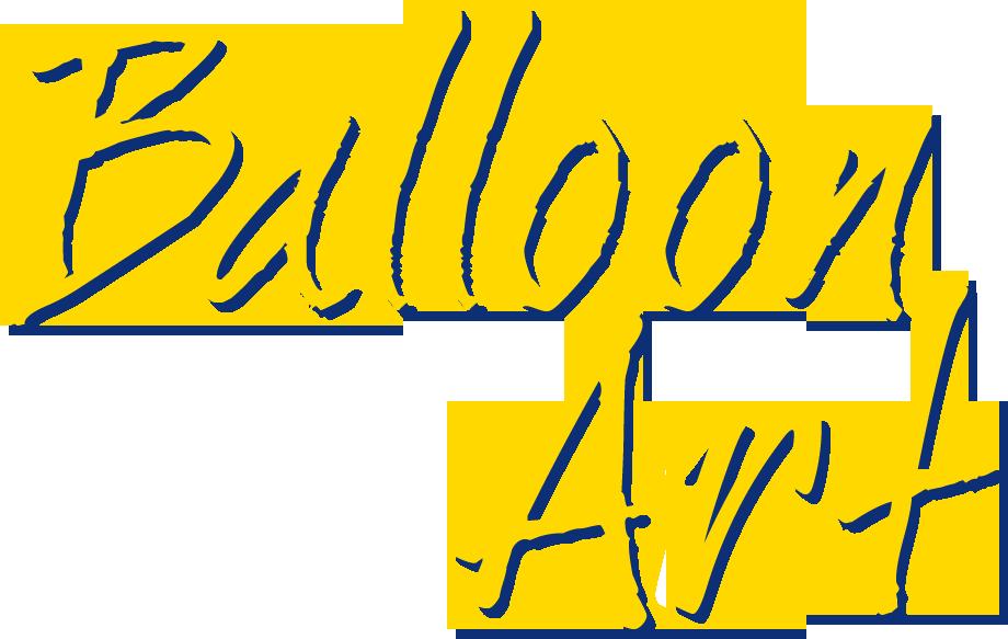 Scritta ballon art